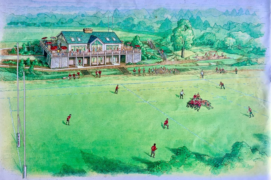 Raleigh Rugby Poole Road Pitch Renderings